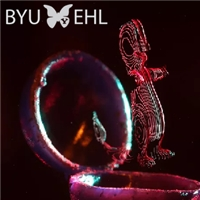 Researchers at BYU Create Spatially-Illuminated 3D Holographic Displays