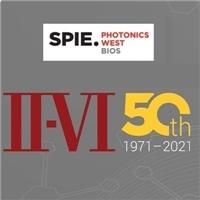 II-VI Inc Showcases Its Latest Product Portfolio at SPIE Photonics West 2021